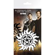 Supernatural Anti-Possession Symbol Keyring