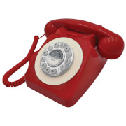 Benross Retro Telephone - Red
