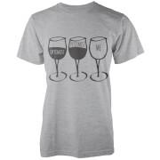 Optimist, Pessimist, Me T-Shirt - Grey