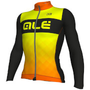 Alé R-EV1 Rumbles Winter Jersey - Black/Orange/Yellow