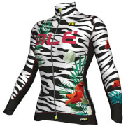 Alé Women's PRR 2.0 Flowers Winter Jersey - White/Black