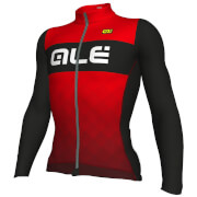 Alé R-EV1 Rumbles Winter Jersey - Black/Red