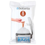 Brabantia PerfectFit Dispenser Pack X - 20 Litre (Pack of 40)