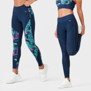 Tropical Reversible Leggings