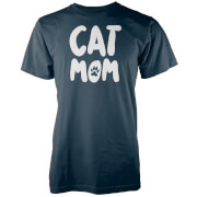 Cat MOM Navy T-Shirt
