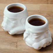 Original Stormtrooper Espresso Mug Set - White