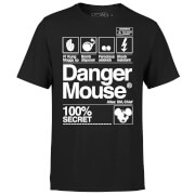 Danger Mouse 100% Secret T-Shirt - Black