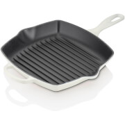Le Creuset Cast Iron Square Grillit - 26cm - Cotton
