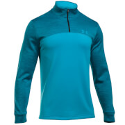 Under Armour Men's Armour 1/4 Zip Fleece Hoody - Blue