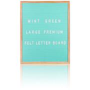 Large Premium Felt Letter Board - Mint Green