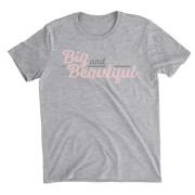 Big And Beautiful Grey T-Shirt