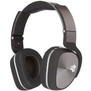 JLab Audio Flex Studio DJ Style Over Ear Headphones with Carry Case and Apple Mic - Black