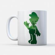 Nintendo Super Mario Luigi Silhouette Mug