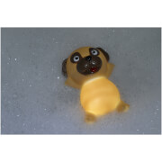 Light Up Pug Bath Plug