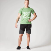 Gained Not Given T-Shirt - Green