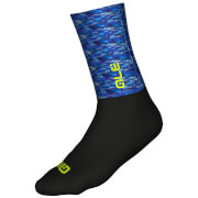 Alé Merino Logo Winter Socks - Blue/Black