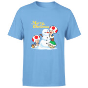 T-Shirt Homme Mario Cadeaux - Super Mario Nintendo - Rouge