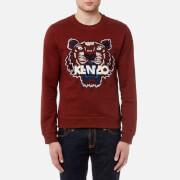 KENZO Men's Icons Tiger Sweatshirt - Burgundy