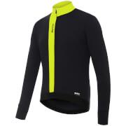Santini Origine Winter Long Sleeve Jersey - Yellow