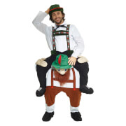 Piggyback Adults' Lederhosen Costume - Multi