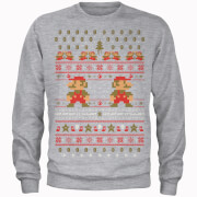 Sweat Homme Mario Kart Here We Go - Super Mario Nintendo - Noir