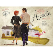 The X-Files Arcadia Fine Art Print by Acme Archive Artist J.J. Lendl (Limited Edition of 100)
