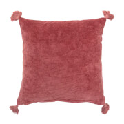 Bloomingville Square Cushion - Rose