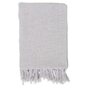 Bloomingville Cotton Throw - Grey