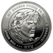 Moneda de Colección Street Fighter - Edición Plateada Limitada