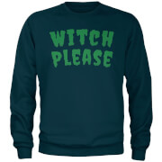 Witch Please Navy Sweatshirt