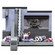 Kit de Construction Five Nights At Freddy's Scooping Room avec Masked Ennard Medium (Micro Set) - McFarlane
