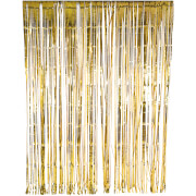 Glitterati Foil Curtain - Gold