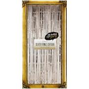 Glitterati Foil Curtain - Silver