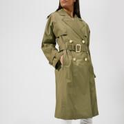 MICHAEL MICHAEL KORS Women's Wide Sleeve Trench Coat - Safari Green
