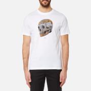 PS by Paul Smith Men's Skull Print T-Shirt - White