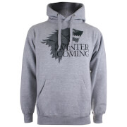 Game of Thrones Men's Winter is Coming P/O Hoody - Grey Heather