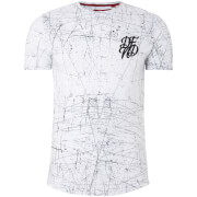 T-Shirt Homme Rayures DFND - Blanc