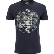 T-Shirt Homme Originals Newport Jack & Jones - Bleu Marine