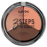 NYX Professional Makeup 3 Steps to Sculpt Face Sculpting Palette - Deep