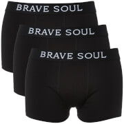 Lot de 2 Boxers Luke Brave Soul - Noir