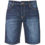 Jack & Jones Men's Originals Rick Originals721 LID Denim Shorts - Dark Wash