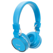 AV: Link Draadloze Bluetooth On-Ear Noise Cancelling Koptelefoon - Blauw