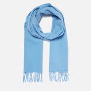 Barbour Lambswool Woven Scarf - Pale Blue