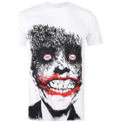 DC Comics Men's Joker Eyes T-Shirt - White