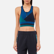 LNDR Women's Wild Cat Seamless Sports Bra - Cornflower Blue