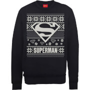 Sweat Homme Logo Superman - DC Comics - Noir