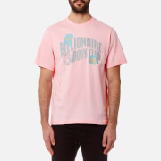 Billionaire Boys Club Men's Damage Logo T-Shirt - Pink