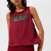 Reebok Women's Tie Tank Top - Urban Maroon