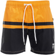 Short de Bain Teesdale Crosshatch - Orange