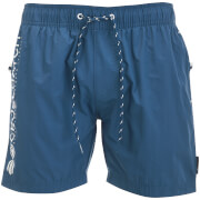 Short de Bain Kavana Crosshatch - Bleu